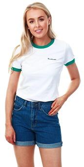 fad962ff2 Brave Soul White Heartbreaker Ringer T-Shirt