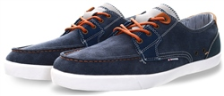 Raw Denim Porter Lace Up Shoe by Lloyd & Pryce