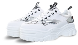 No Doubt White Snake Chunky Trainer