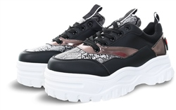 No Doubt Black Snake Chunky Trainer