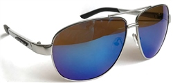 Raymond B Blue Aviator/Pilot Sunglasses