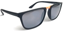 Raymond B Mty /Orange Wayfarer Sunglasses