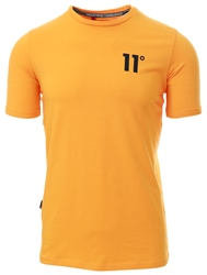 11degrees Yellow Core Muscle Fit T-Shirt