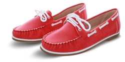 No Doubt Red Boat Slip On Shoe
