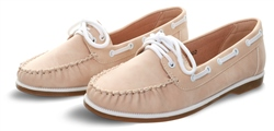 No Doubt Beige Boat Slip On Shoe