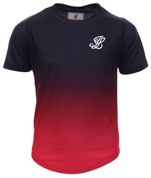 Illusive London Black & Pink Fade Tee