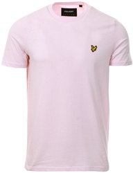 5310019b5af9 Lyle & Scott Strawberry Cream Plain T-Shirt