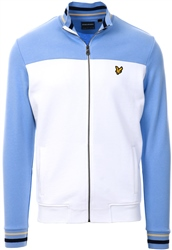 Lyle & Scott White Tipped Funnel Neck