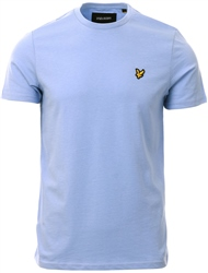 Lyle & Scott Blue Smoke Plain T-Shirt