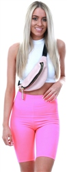 Parisian Neon Pink Cycling Shorts