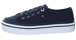 Tommy Jeans Navy Corporate Flatform Trainers