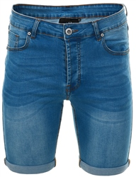 Kings Will Dream Light Blue Wash Lumor Skinny Short
