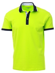 Ottomoda Green Short Sleeve Polo Shirt