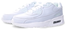 No Doubt White Platfrom Lace Up Trainer