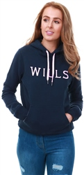 Jack Wills Navy Ainsdale Pop Over Hoodie
