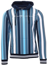 Heartbreaker Club Sky Blue Dillon Stripe Hoodie