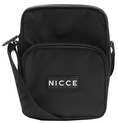 Nicce Black Timo Cross Body Bag