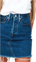 Levi's® High Waisted Deconstructed Skirt