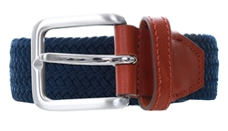 Jack & Jones Navy Classic Woven Belt