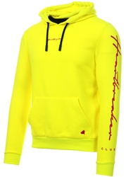 Heartbreaker Club Frozen Yellow Neon Panel Tape Hoodie