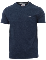 Hilfiger Denim Black Iris Soft Jersey Blend T-Shirt