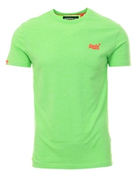 Superdry Fluro Green Grit Orange Label Fluro Grit T-Shirt