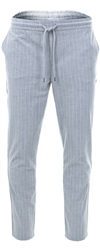 Pre London Light Grey Pinstripe Trouser