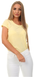 Jack Wills Yellow Fullford T-Shirt