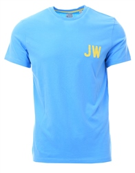 Jack Wills Pale Blue Bedwyn Graphic T-Shirt