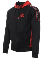 Kings Will Dream Black/Red Manse Track Top