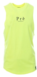 Pre London Safety Yellow Sleeveless T - Shirt