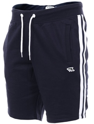 Le Shark Sky Captain Navy Side Panel Stripe Shorts