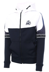 Kings Will Dream Navy/White Junior Skene Full Zip Hooded Top