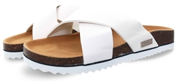 Superdry White Luxe Sliders
