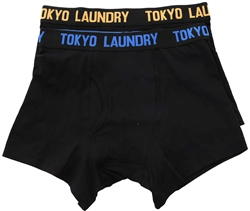 Tokyo Laundry Olympian Blue 2 Pack Boxers