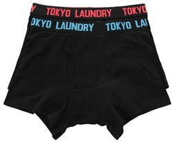 Tokyo Laundry Paradise Pink 2 Pack Boxers