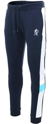 Gym King Navy Nights Capone Tracksuit Bottoms