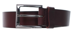 Dice Burgandy Westside Buckle Belt
