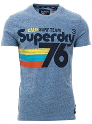 Superdry Bliss Blue 76 Surf T-Shirt