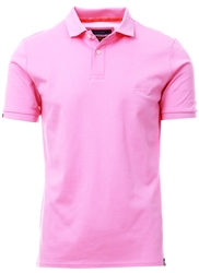 Superdry Prep Pink Classic Micro Pique Polo Shirt