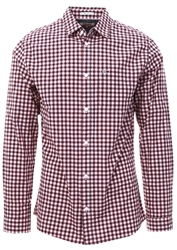 Hilfiger Denim Classic White /Red Check Print Shirt