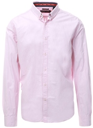 Superdry Pink International Poplin Long Sleeve Shirt