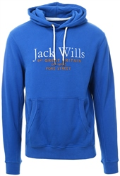 Jack Wills Blue Batsford Wills Hoodie