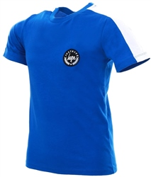 Hype Blue White Tape Sleeve Kids T-Shirt
