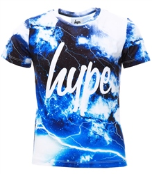 Hype Multi Lightning Space Kids T-Shirt