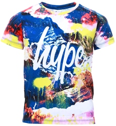 Hype Paint Mountain Kids T-Shirt