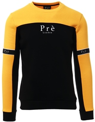 Pre London Yellow Eclipse Crew Sweat