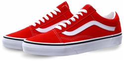 Vans Racing Red Old Skool Shoes