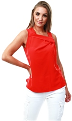 Only High Risk Red Knot Sleeveless Top