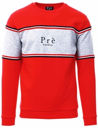 Pre London Red College Sweatshirt